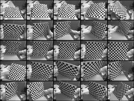 Multiple views of the chessboard