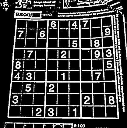 SuDoKu Grabber in OpenCV: The Plot - AI Shack